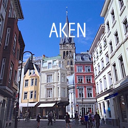 Aken, Studenten- en Winkelstad